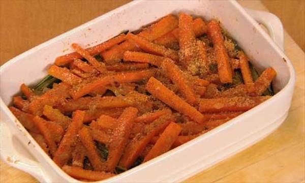 I menu di benedetta gratin di carote e catalogna - Giardinieri in affitto chi paga i lavori ...