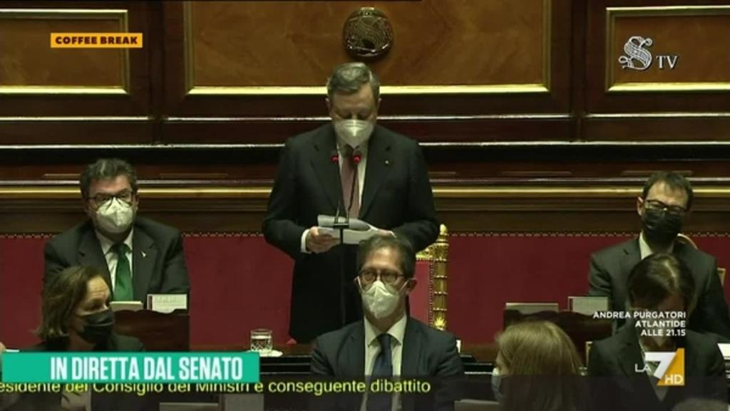 Discorso Draghi Oggi Draghi In Senato Oggi Il Discorso In Diretta Nkwp Blogvendermais