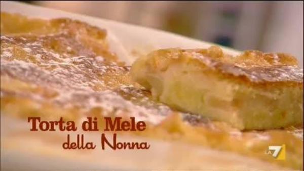 Torta Di Mele Della Nonna Benedetta Parodi Imenudibenedettala7it