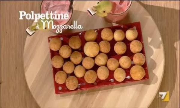 Polpettine di mozzarella benedetta parodi for Mozzarella in carrozza parodi