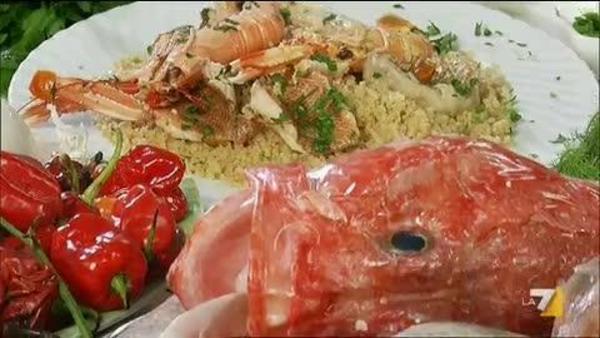 Pranzo Di Compleanno A Base Di Pesce : Couscous di pesce la7.it