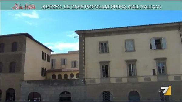 Case Toscane Arezzo : Arezzo le case popolari prima agli italiani