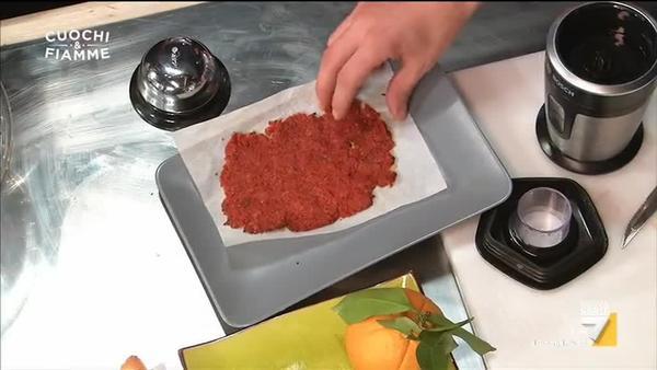 Bruschetta 'liquida' e pasta di pomodoro concentrato