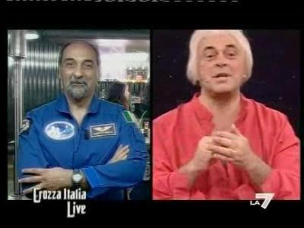 L'astronauta Gudoni e il grande fisico Zichichi: c'è vita oltre la terra?
