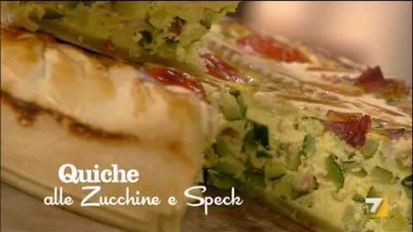 Quiche Di Zucchine E Speck Benedetta Parodi Imenudibenedettala7it