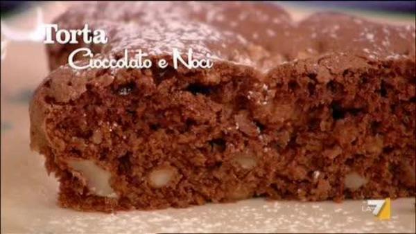 Torta Cioccolato E Noci Di Benedetta Parodi Imenudibenedettala7it