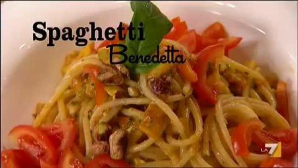 Spaghetti Nduja E Vaniglia Benedetta Parodi Imenduibendettala7it