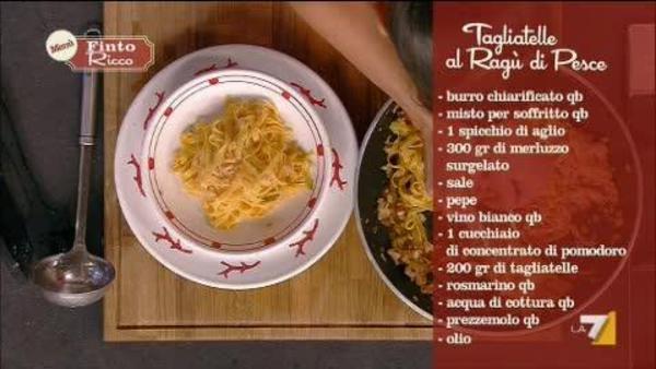 I Menu Di Benedetta 23102013 Tagliatelle Con Ragu Di Pesce