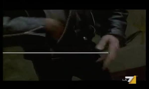 Il Commissario Cordier - Dipinto alla pistola