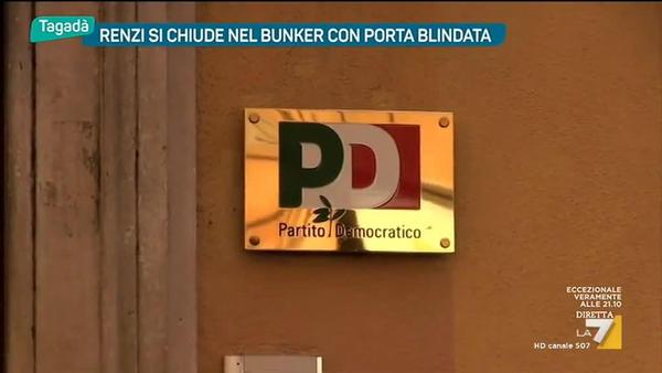 Renzi Si Chiude Nel Bunker Con Porta Blindata