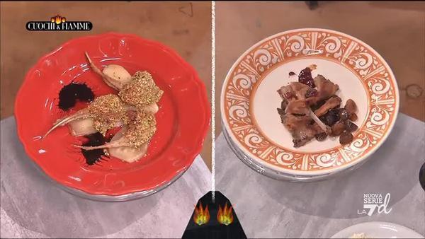 Abbacchio in cucina - Simone Rugiati, cuochiefiamme.la7.it