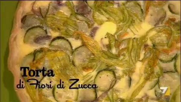 Crostata Di Zucchine E Fiori Di Zucca Benedetta Parodi
