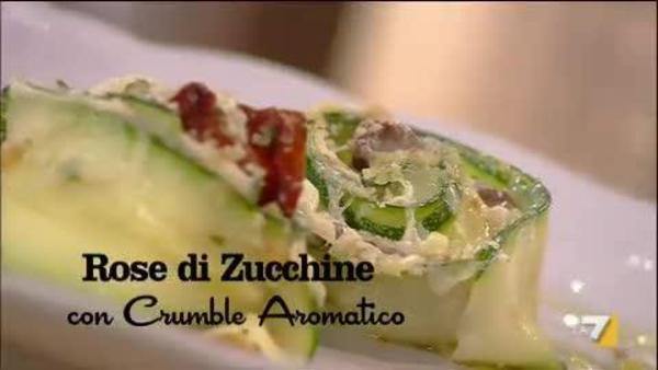 Rose Di Zucchine Con Crumble Aromatico Benedetta Parodi