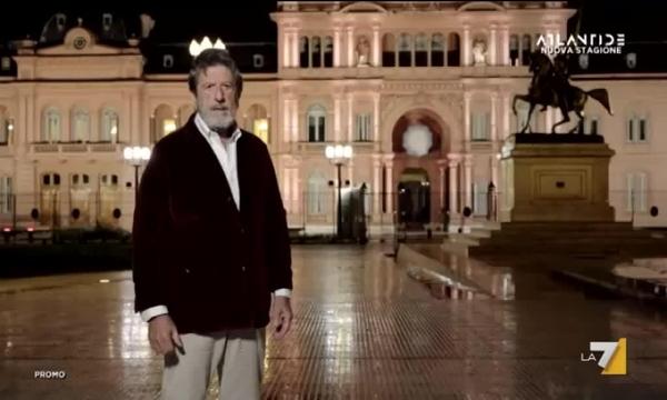 Atlantide con Andrea Purgatori - La favola di Evita e l'illusione populista, mercoledì alle 21.15