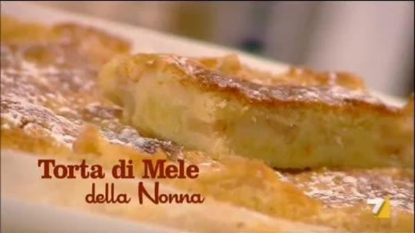 Torta Con Mele Grattugiate La7it