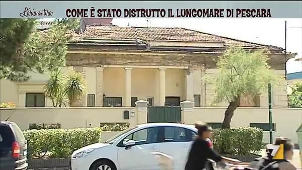 Pescara Camera Live : Comè stato distrutto il lungomare di pescara