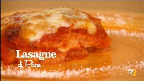 Lasagne Di Pane Con Mozzarella E Pomodoro Benedetta Parodi