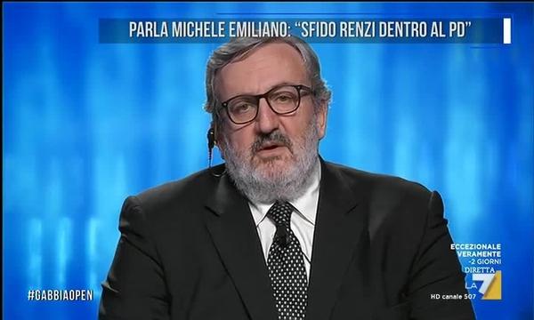 Parla Michele Emiliano: 'Sfido Renzi dentro al PD'
