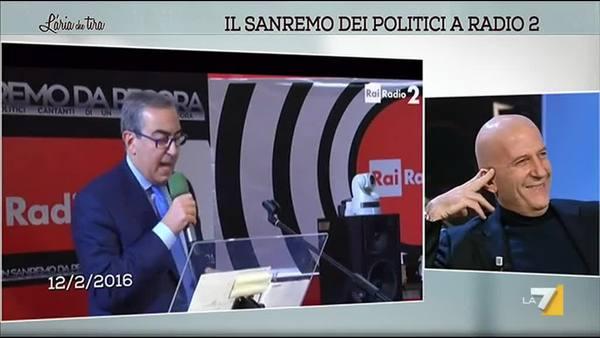 Il Sanremo dei politici