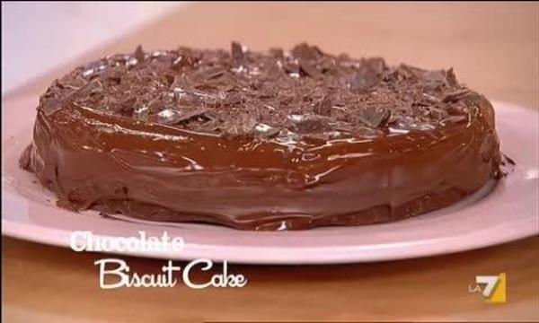 Torta Biscotti E Cioccolato Fondente Benedetta Parodi