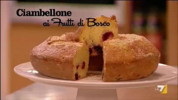 Ciambellone Soffice Ai Frutti Di Bosco Benedetta Parodi