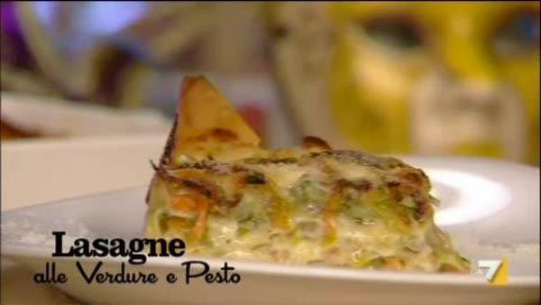 Lasagne Con Zucchine E Peperoni Benedetta Parodi