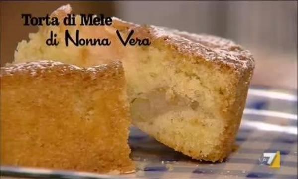 I Menu Di Benedetta 18032013 Torta Di Mele Di Nonna Vera La7it