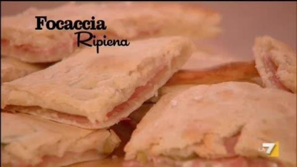 Focaccia Ripiena Benedetta Parodi Imenudibenedettala7it