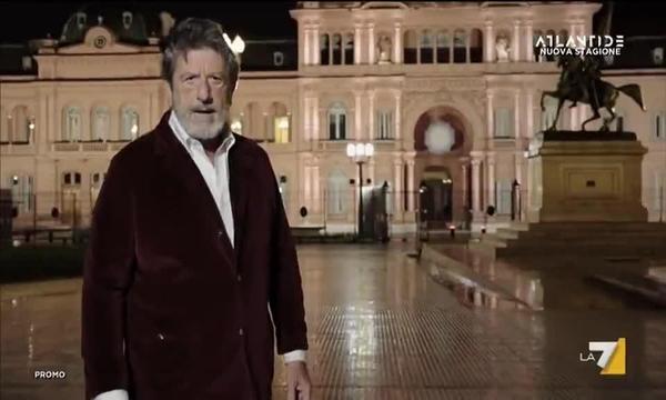 Atlantide con Andrea Purgatori - La favola di Evita e l'illusione populista, questa sera alle 21.15