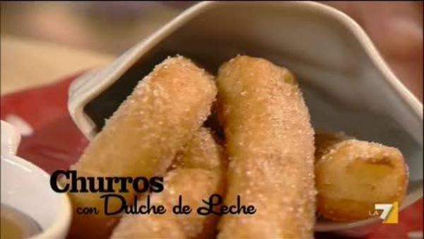 Churros Con Dulche De Leche Benedetta Parodi Imenudibenedettala7it