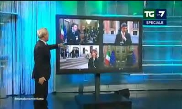 Speciale TgLa7 - Le consultazioni della Presidente Casellati per la formazione del nuovo governo