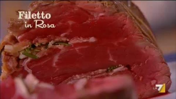 Ricetta Filetto In Rosa Di Benedetta Parodi Imenudibenedettala7it