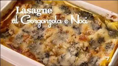 Lasagne al Gorgonzola e Noci