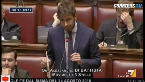 Discorso Camera Boldrini : Il discorso di alessandro di battista e lo scontro con laura boldrini