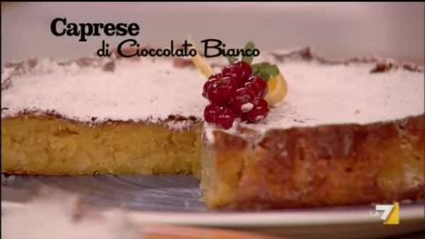 Torta Caprese Al Cioccolato Bianco Benedetta Parodi