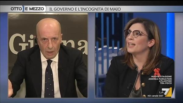 Sallusti A Laura Castelli M5s Essere Votati Non E Sinonimo Di