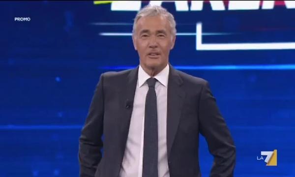 Massimo Giletti torna domenica 23 settembre alle 20:30 con Non è L'Arena