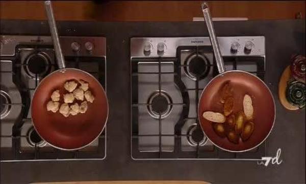 Coda di rospo foderata di prosciutto con crostini - Giardinieri in affitto chi paga i lavori ...