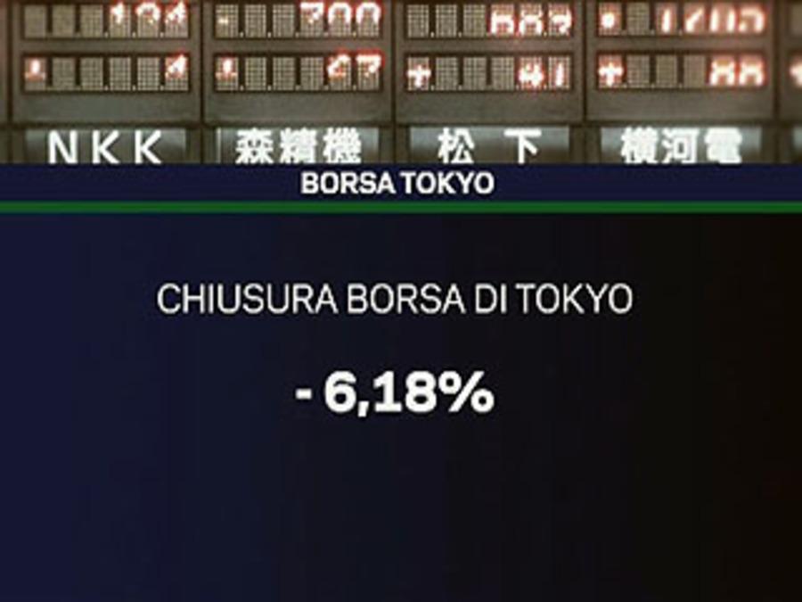 d5cbc8bb6b TG La7 - video - 14/03/2011 : CROLLA LA BORSA DI TOKYO, L'INDICE PERDE PIU'  DEL 6%