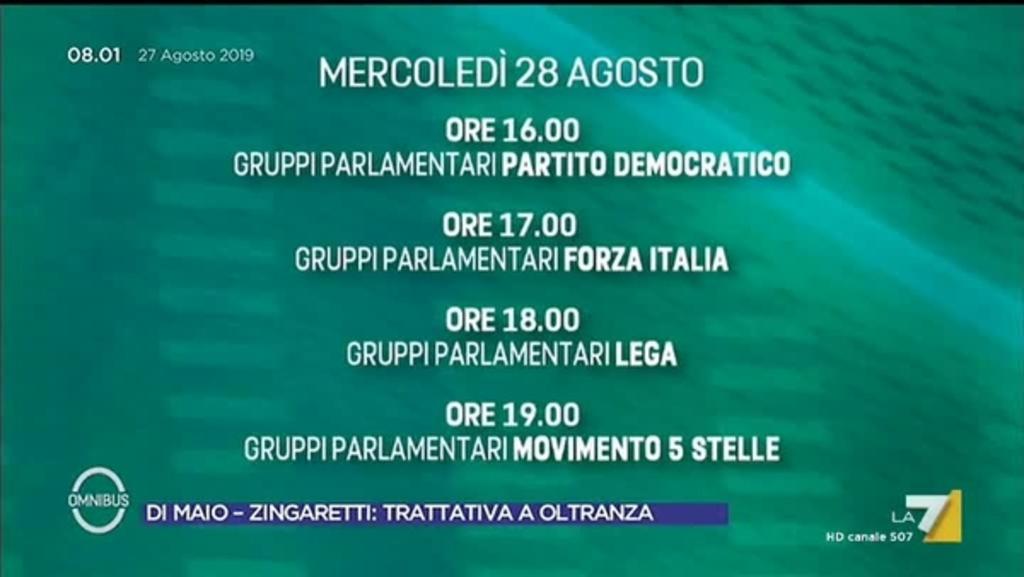 Calendario Repubblica.Il Calendario Delle Consultazioni Del Presidente Della Repubblica Sergio Mattarella