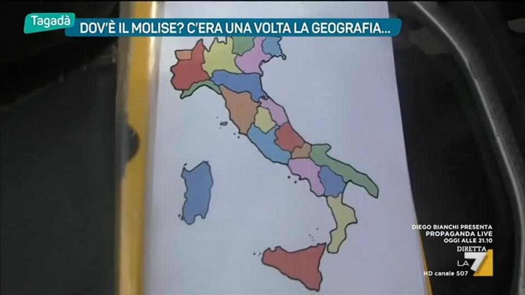 Cartina Politica Italia Con Capoluoghi Di Regione.Confini Quanto Conosciamo L Italia