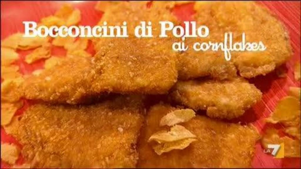 Bocconcini Di Pollo Ai Cornflakes