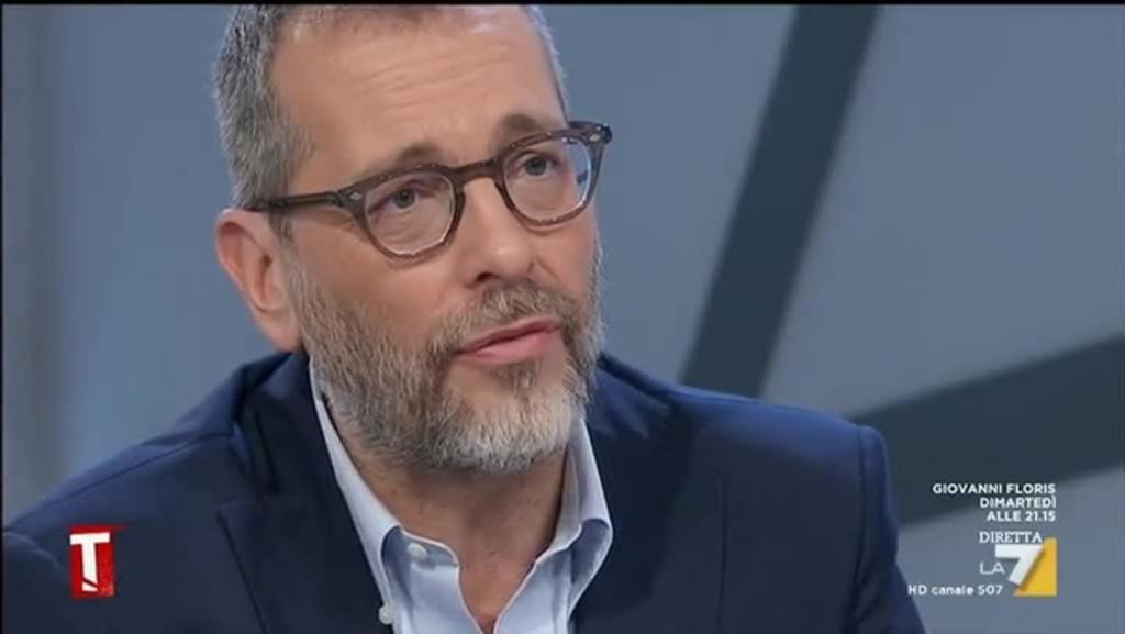 Corrado Formigli racconta a Tagadà la vera storia degli attacchi ricevuti  sulla sua casa