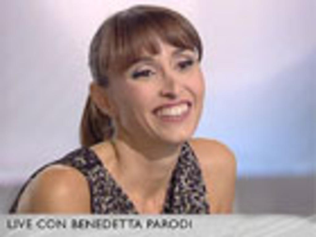 CRISTINA PARODI LIVE - 09/11/2012 : Benedetta Parodi: la mia ...