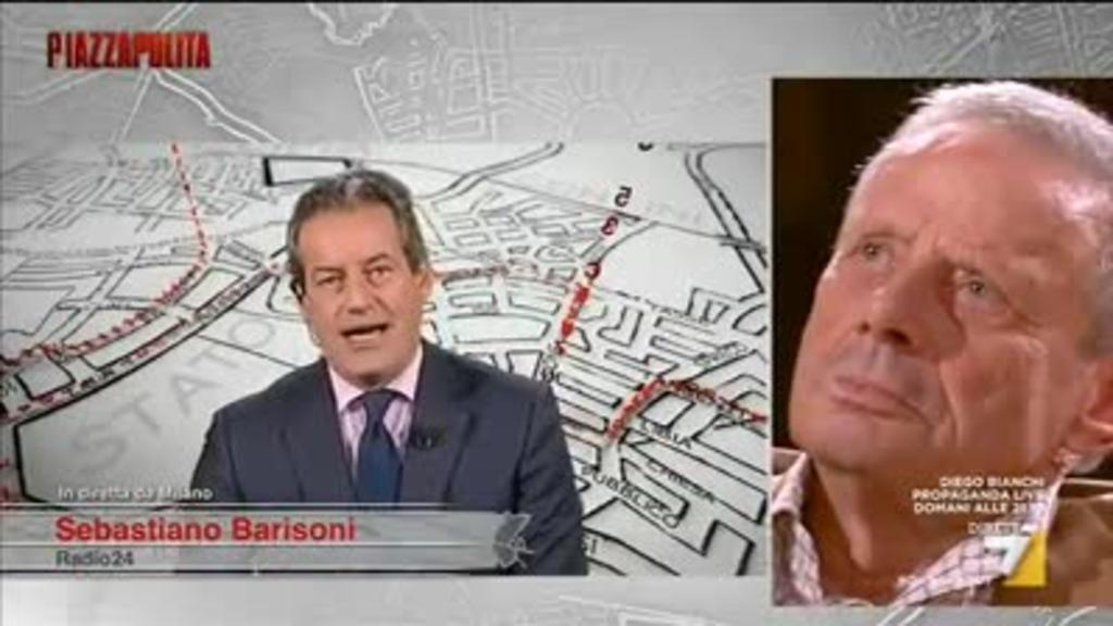 Barisoni (Sole24Ore) vs Zamparini: 'All'estero lei sarebbe in prigione non  in tv'