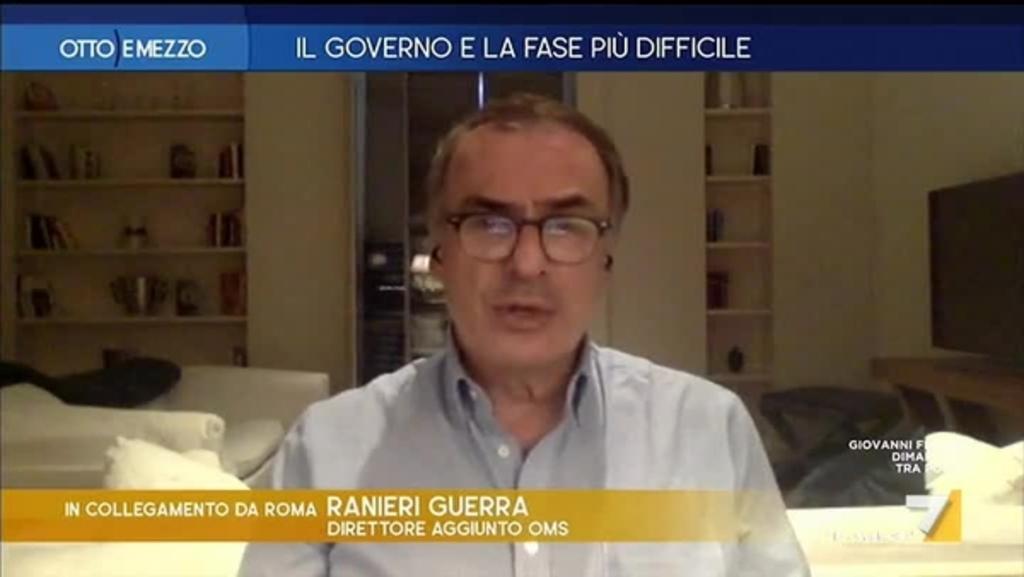 """Ranieri Guerra (OMS): """"Su 100 persone 80 non hanno sintomi e 15 ..."""