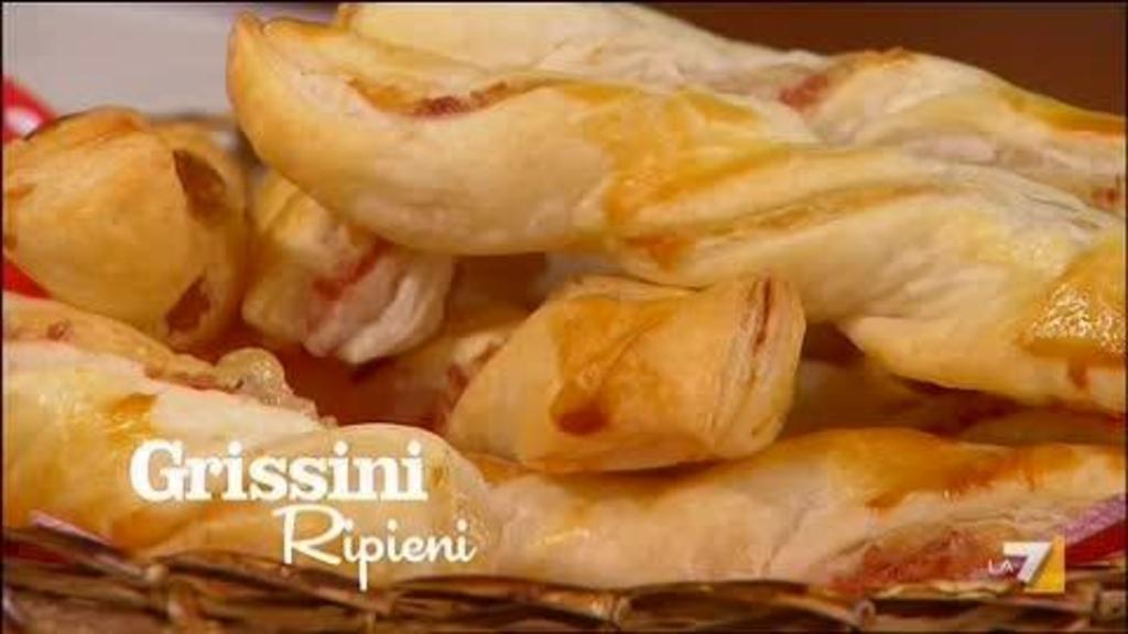 Ricetta Grissini Ripieni Con Pasta Sfoglia.Grissini Ripieni Imenudibenedetta La7 It