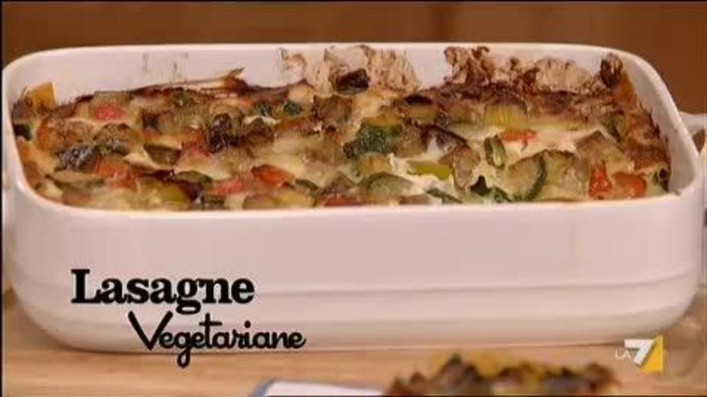 Menu Di Natale Vegetariano Parodi.Lasagne Con Verdure