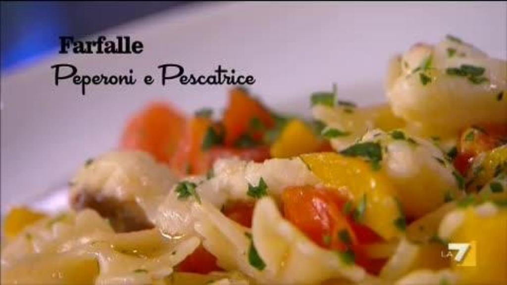 Risotto ai peperoni menu di benedetta